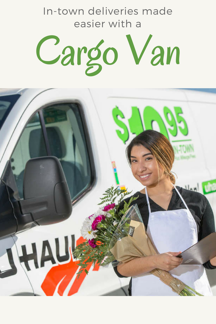 U Haul Cargo Vans Are Ideal For In Town Deliveries Perhaps You Have An Event To Cater Or Flowers To Deliver You Can Keep Your It Cargo Van Cargo Rental Vans