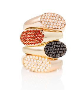 Garland Rings, $1900 each, garlandcollection.com.