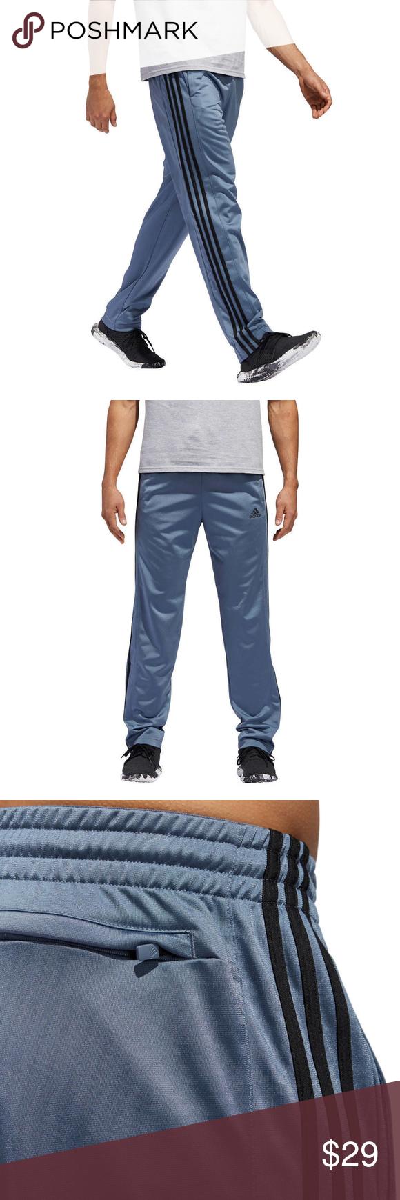 Adidas Mens Essential Track Pants M Gameday Pant Rawste//Black