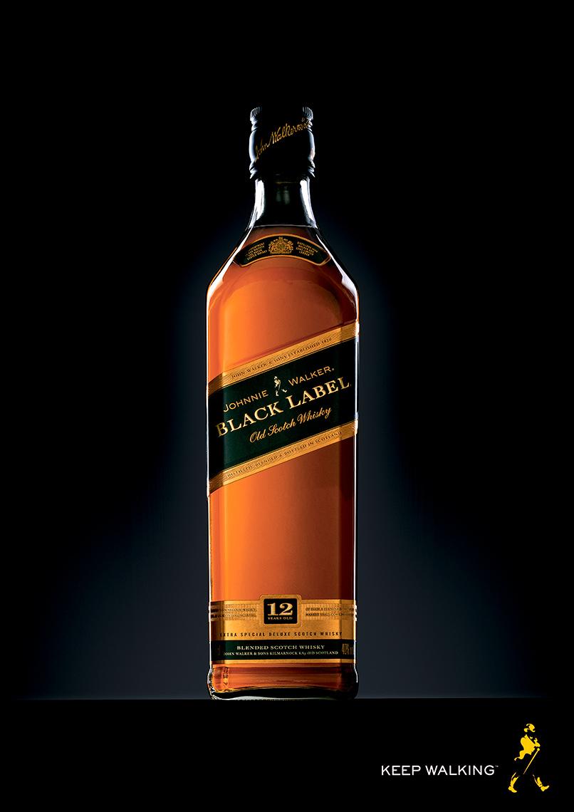 Johnnie Walker Black Label Whisky | Colin Campbell-Food Photographer