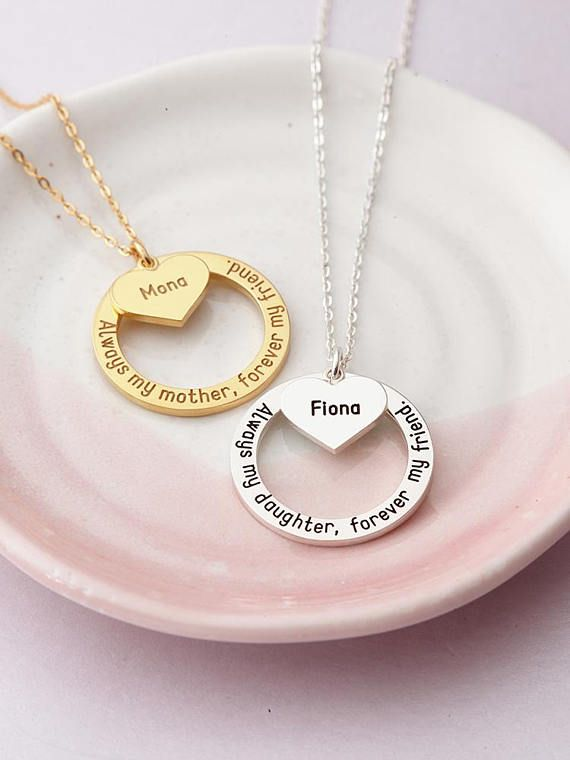 b34aefbd66faf Always My Mother, Forever My Friend Necklace - Mother Daughter ...