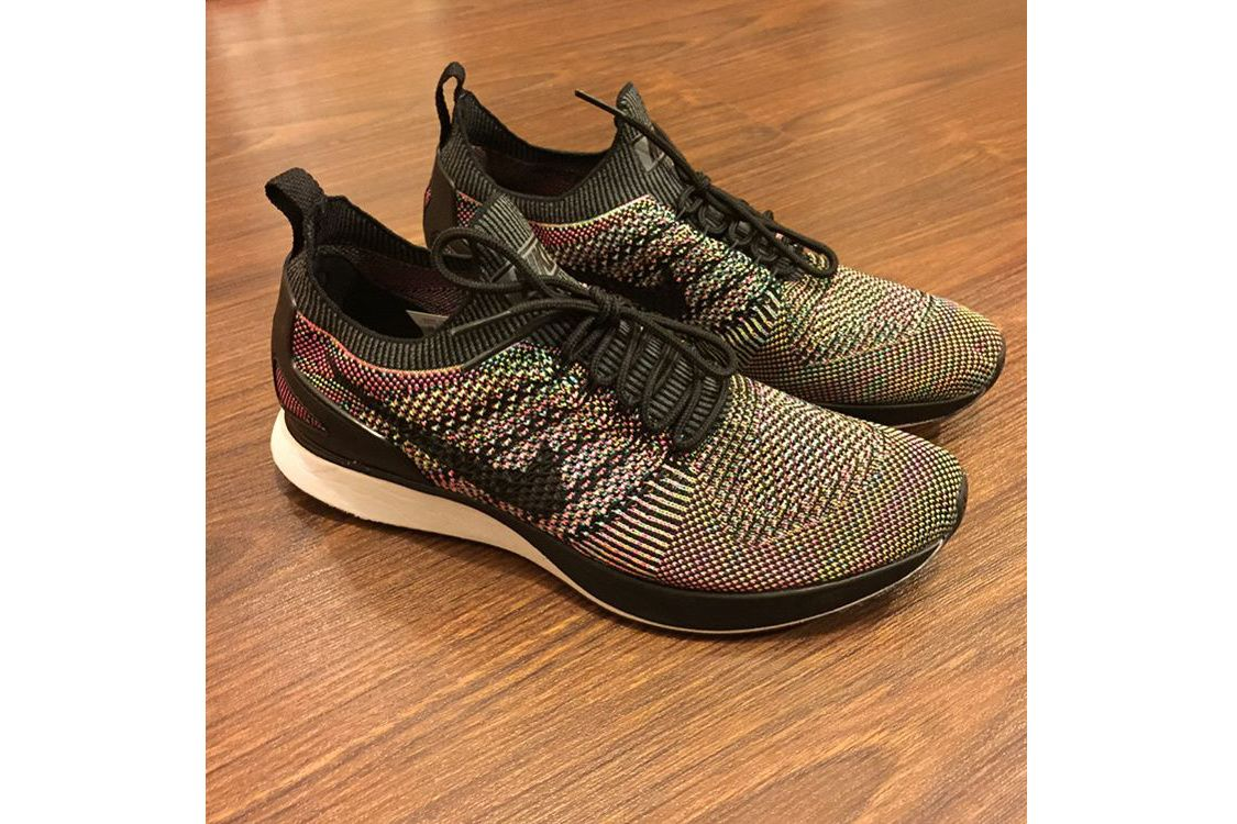 "competitive price 5edd0 c211e ... Flyknit Racer Pure Platinum Nike Mariah Racer ""Multicolor"" First Look  HYPEBEAST ..."