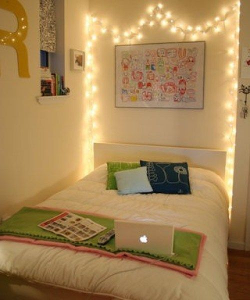 christmas lights ideas decor pinterest bedrooms and room also rh