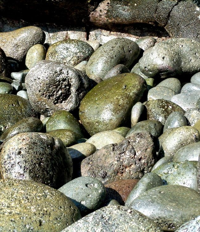 Desert Island Beach: EcoLifeWalks: On A Desert Island With Beautiful Stones And