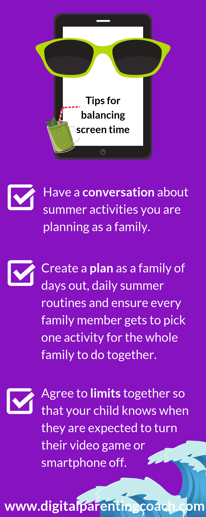 What Can You Do To Help Your Family In Balancing Screen Time And Summer Fun Here Are Some Tips For You Su In 2020 Screen Time Empowering Parents Digital Parenting
