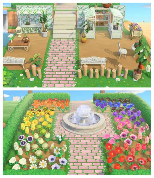 MI My greenhouse area that leads into a garden with 1 of ...