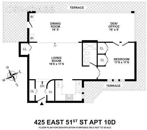 One Bedroom Apartments Nyc: Cute Midtown East Co-op With An Enormous Atrium Wants