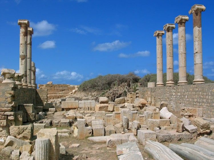 Leptis Magna Libya Cool Places To Visit Roman Province