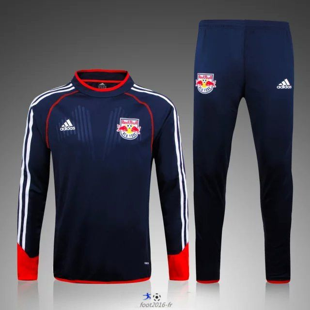 476a6c1d461 Soldes Nouveau Survetement de foot New York Red Bulls Le bleu marine 2015  2016