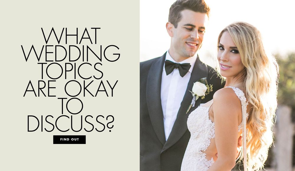How Much Should You Tell People About Wedding Planning