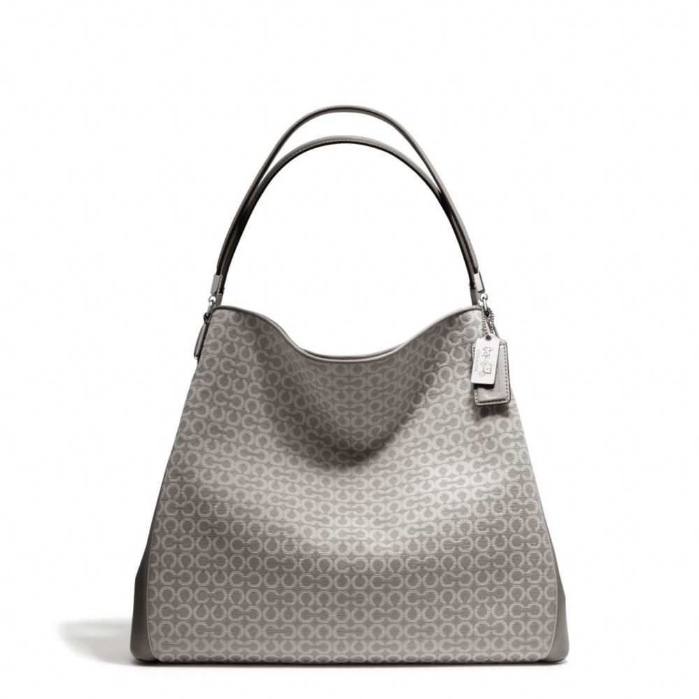 The Madison Phoebe Shoulder Bag In Needlepoint Op Art Fabric from Coach