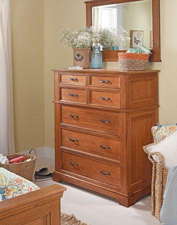 Bedroom Set Oak Dresser Moveis Madeira