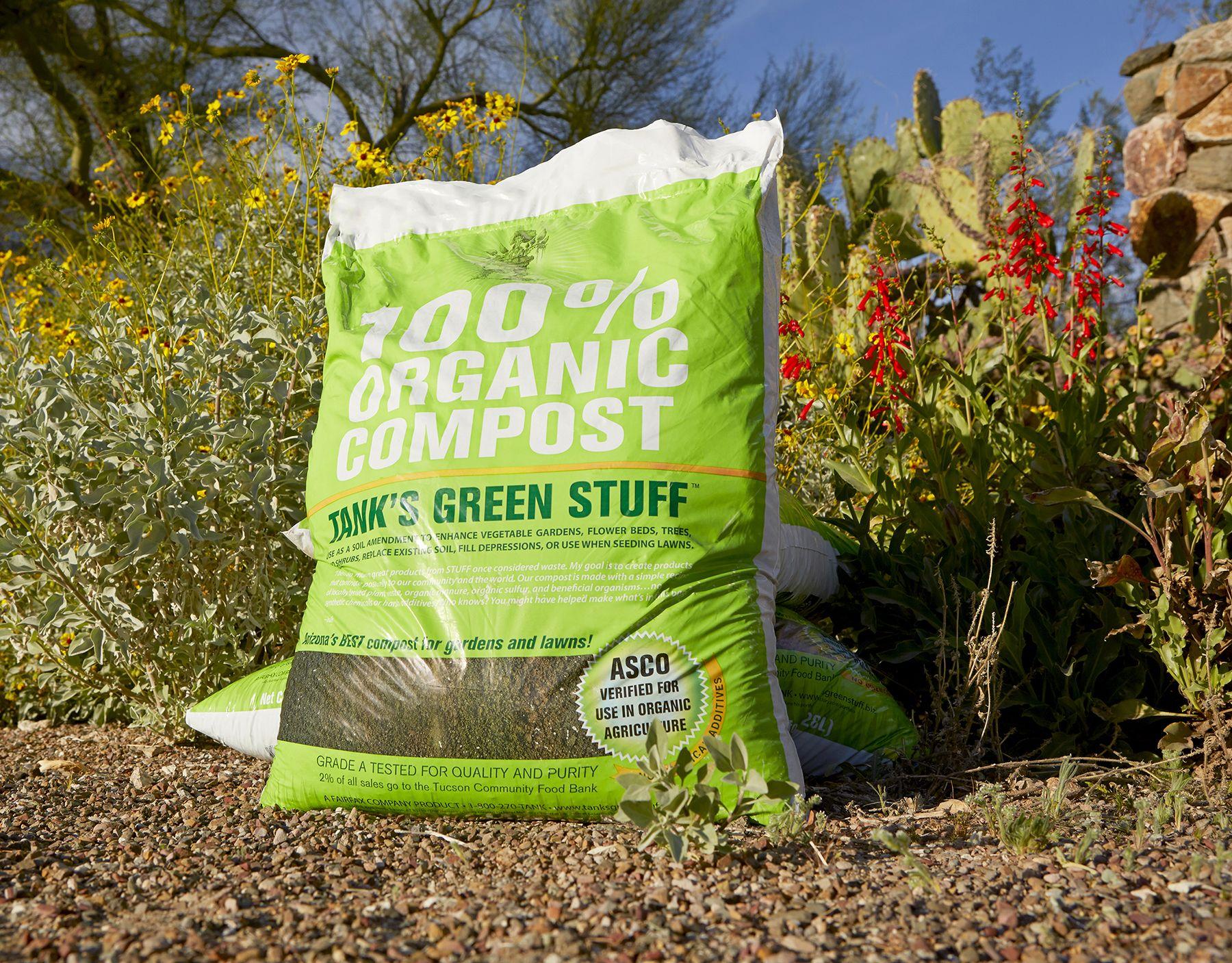 Organic Landscape Materials Organic Compost Landscape Materials