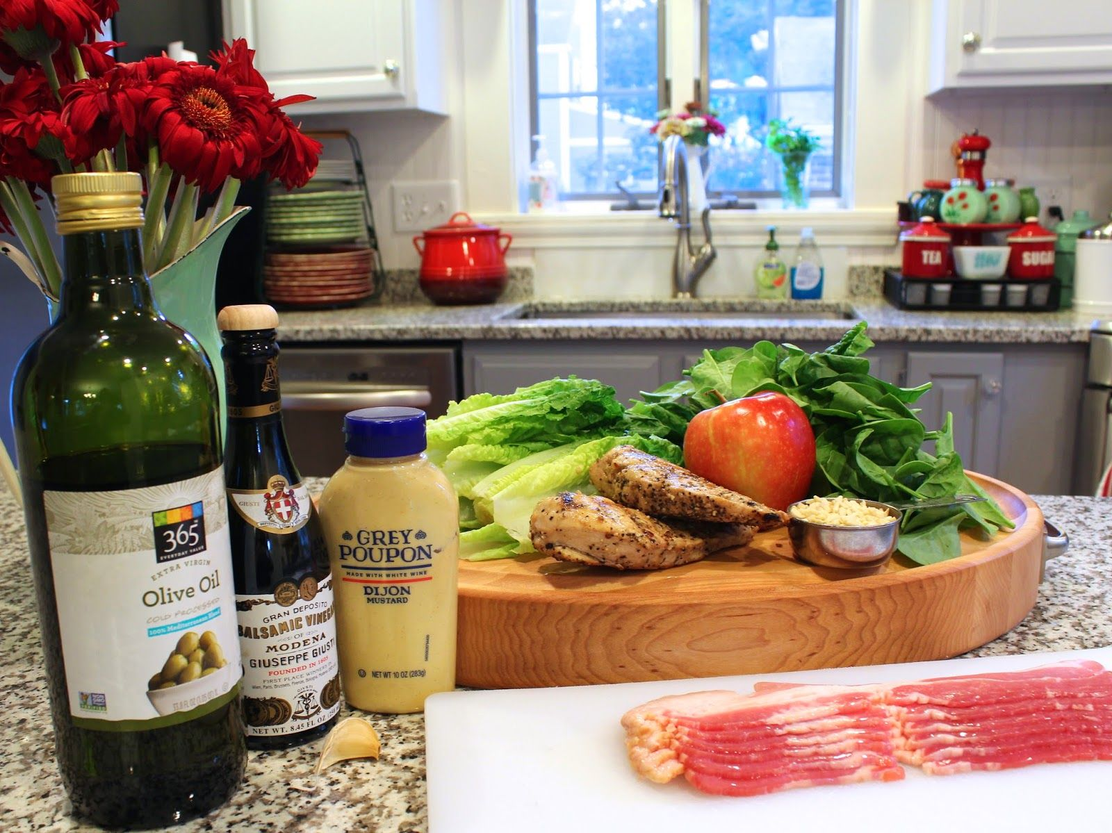 Hey, Mom!  What's For Dinner?: Apple-Bacon-Chicken Salad with Balsamic Vinaigrett...