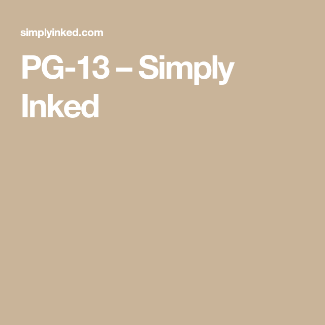 Pg 13 Simply Inked In 2020 Ink I Tattoo Simply