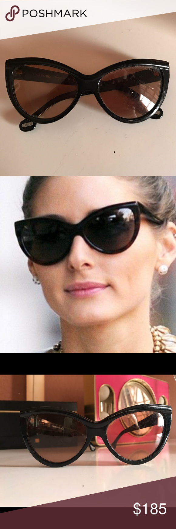 6be19b7d931f Tom Ford Cateye Sunglasses Anouk These are original authentic Tom Ford  Sunglasses. Anouk is a