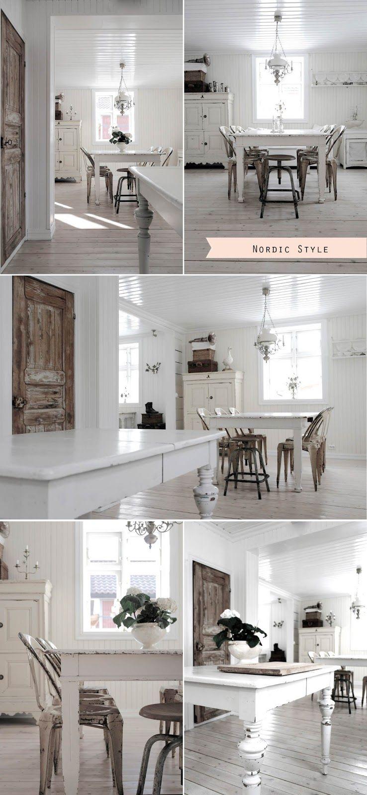 Stile nordico vs Stile industriale Shabby chic interiors