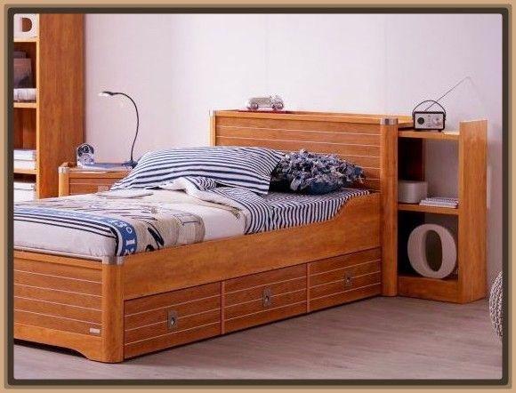 Camas en madera para ninos dise o interiores pinterest - Disenos de camas para ninos ...