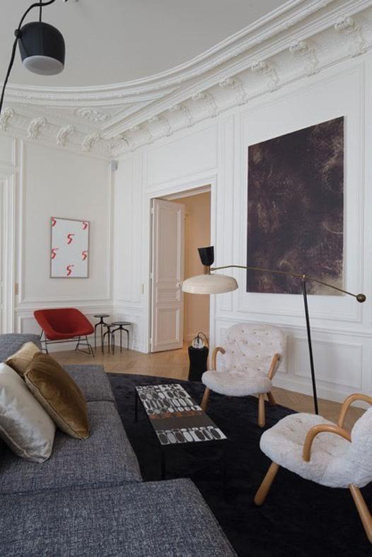300 mq a Parigi Home decor, House interior, Interior design