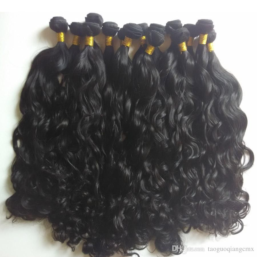 Brazilian virgin Hair Weaves Unprocessed Natural Wave 8-28inch cheap Factory price Unrocessed 4pcs Indian human Hair extensions #humanhairextensions