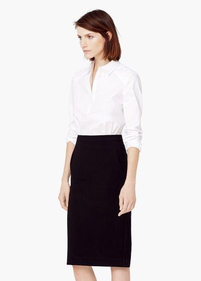 86823129abcf Monochrome contrast-bodice dress