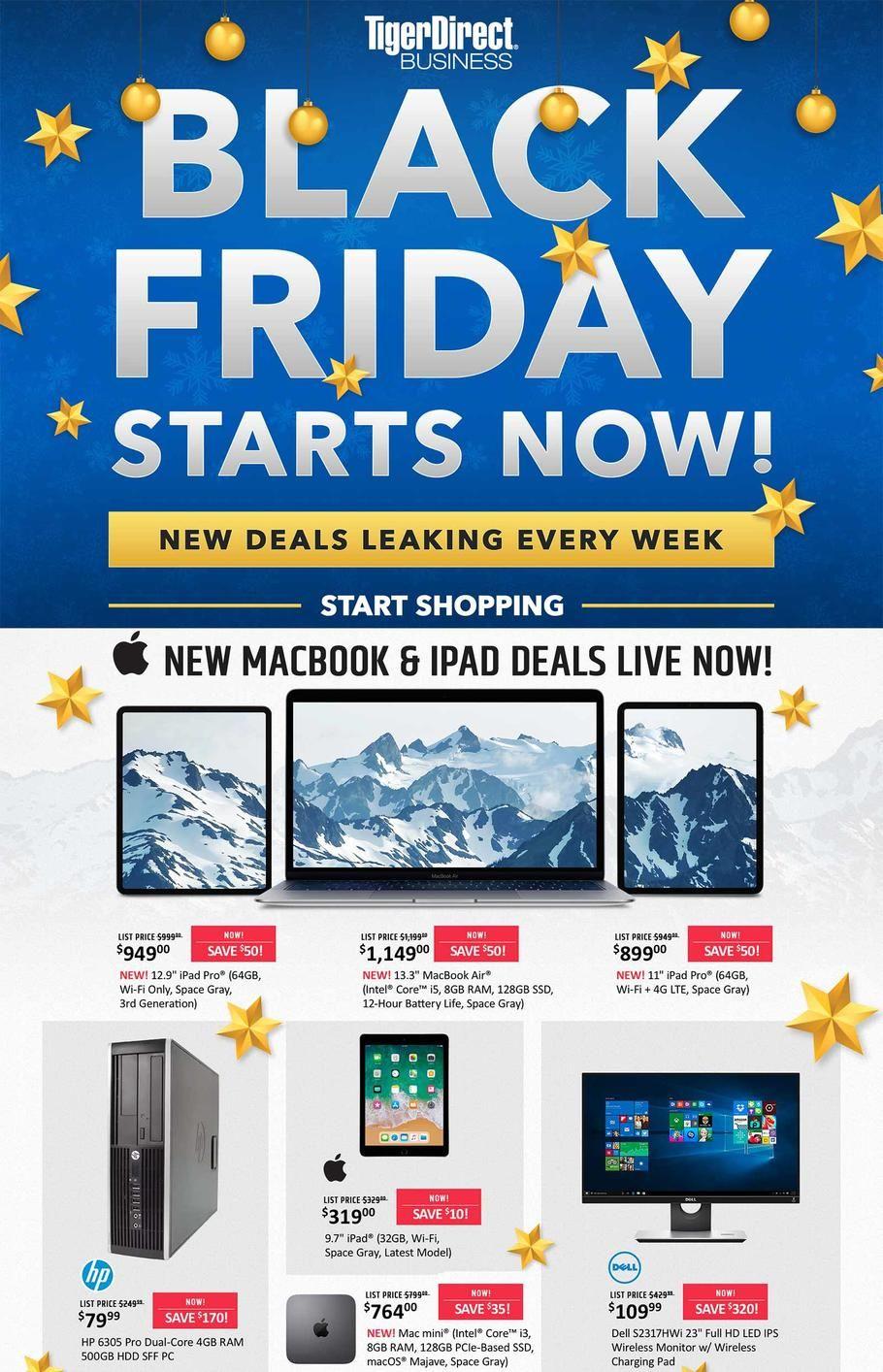 Tiger Direct Black Friday 2020 Sale Bestblackfridaydeal Net Black Friday New Macbook Black Friday Ads