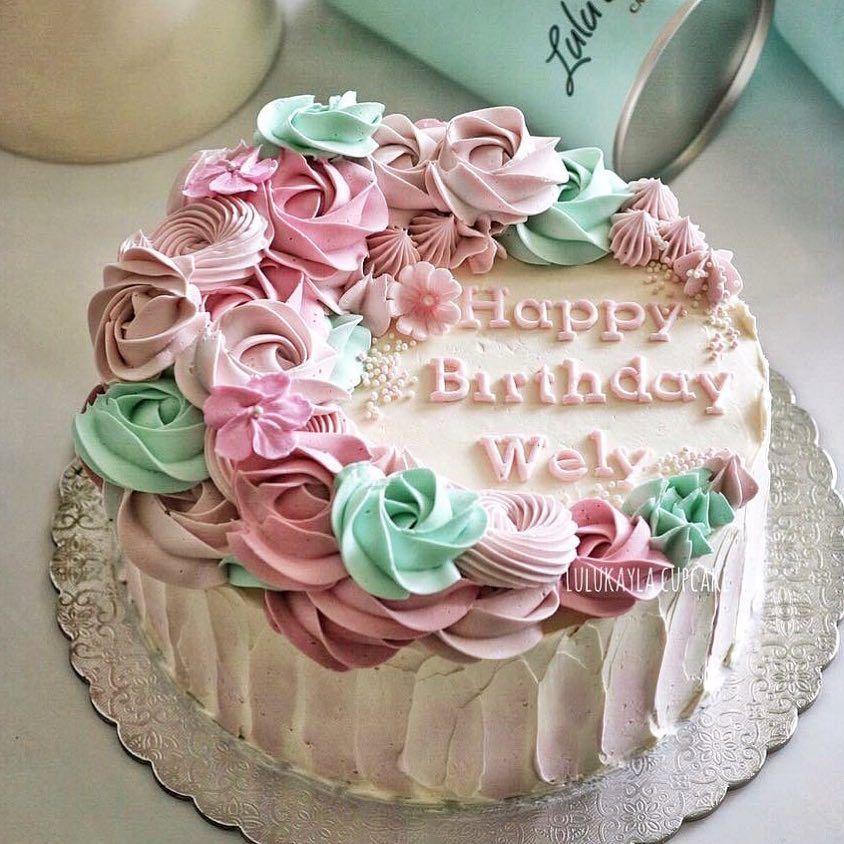 Lulu Kayla Cupcakes Jl Batu Tulis Raya 50b Jakarta Pusat Buttercream Decorating No Bake Cake Cake
