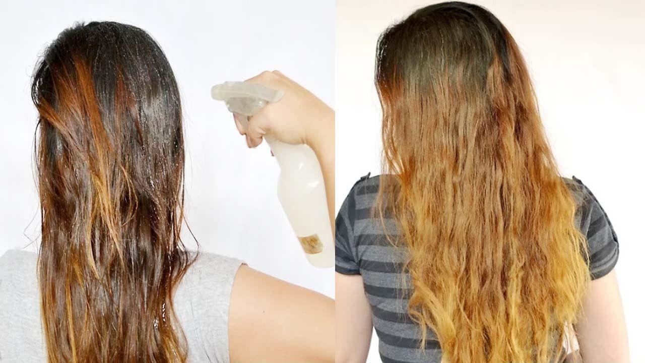 Use Lemon Juice To Lighten Hair 2 Easy Methods To Use Lemon Juice To L Trucos Para El Cabello Aclarar El Pelo Cabello