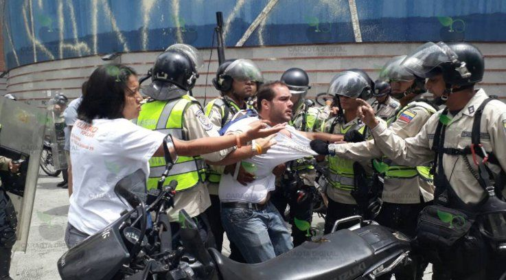 Detención de dirigente de VP