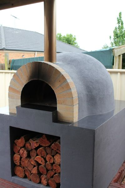 PreCut Brick Oven Kits. Modern Outdoor Pizza ...