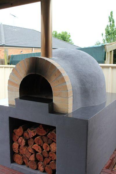 wood fired pizza oven kit backyard pinterest pizza. Black Bedroom Furniture Sets. Home Design Ideas