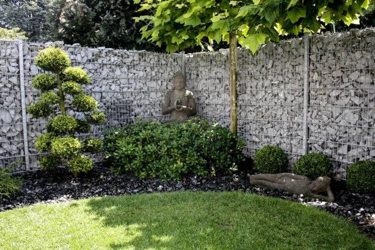 25 Arten von Zäunen und Mauern, die dein Zuhause stylisher machen - vorgarten gestalten asiatisch