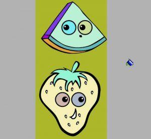 Meyve Boyama Oyunu Oyun Meyve