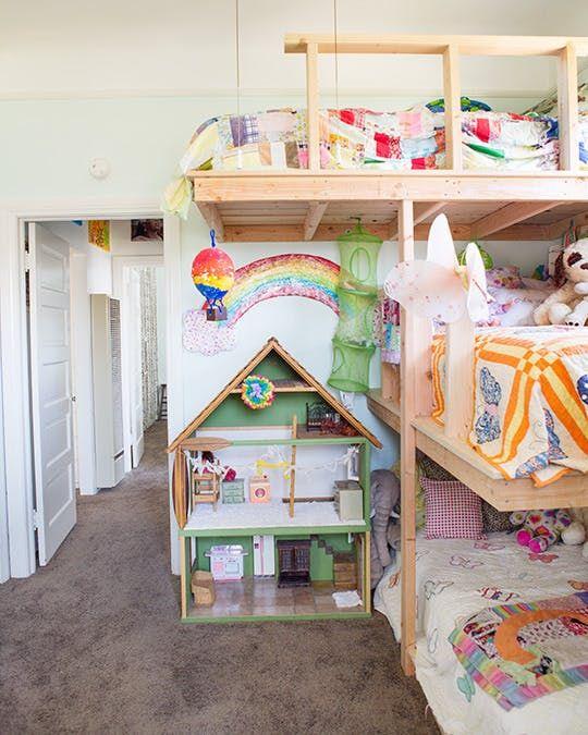 the figgle familys cozy first home - Hausgemachte Etagenbetten Bilder