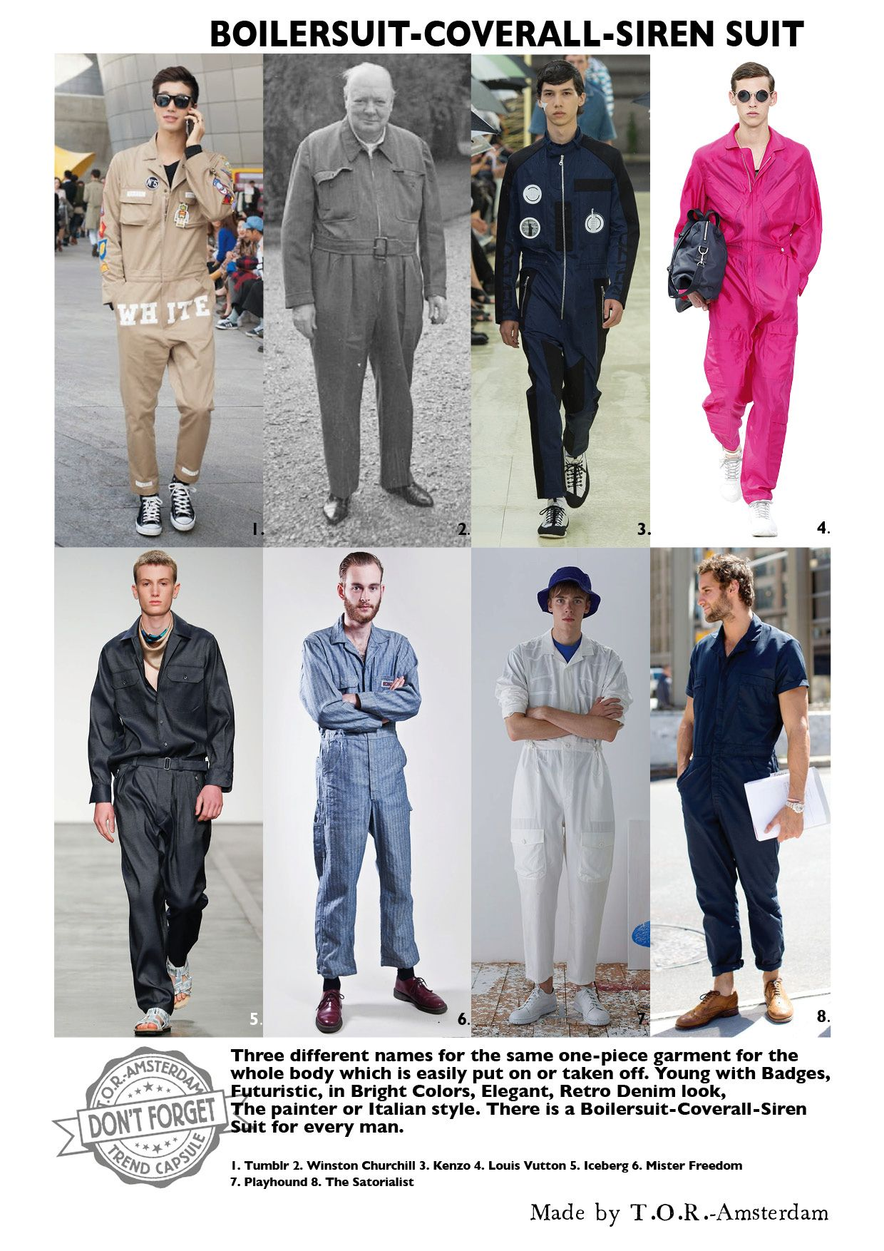 Mens fashion Trend capsule for SS 2016