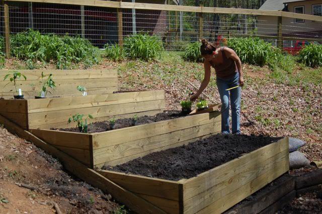 Square Foot Gardening Garten Landschaftsbau Garten Garten Am Hang