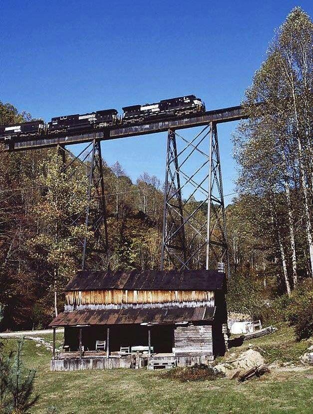 Near Coeburn Va West Virginia History Norfolk Southern Appalachia
