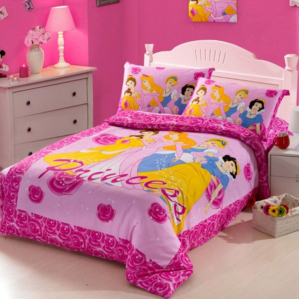 Cartoon Bedding Set 100 Cotton Duvet Cover Set Disney