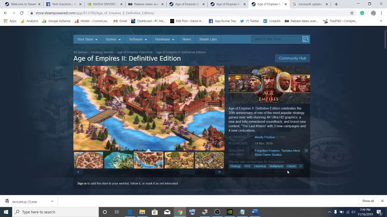 Fix Age Of Empires Ii Definitive Edition Advapi32 Dll And
