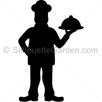 chef silhouette clip art download free versions of the image in eps rh pinterest com Chef Cooking Clip Art Female Chef Silhouette