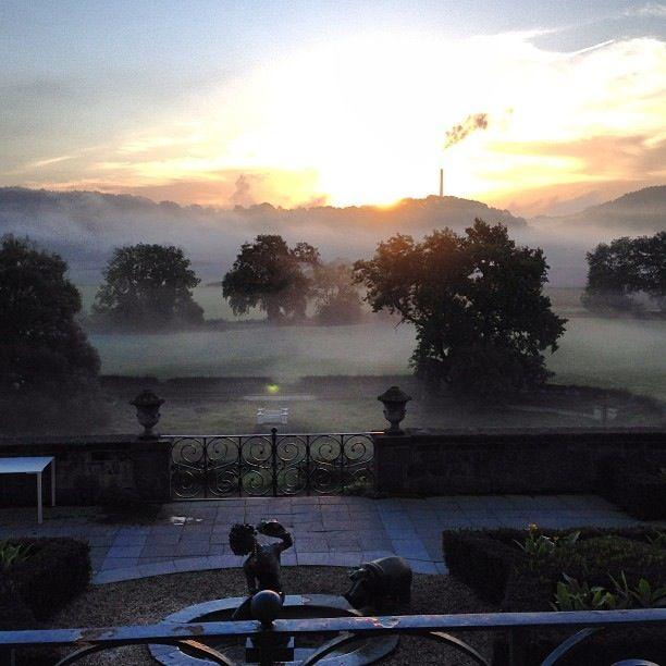 I love Autmn Mornings in Maastricht - Sunrise form Chateau ...