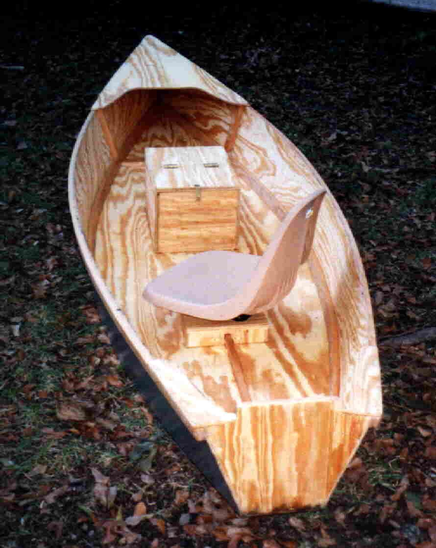 one-man ply boat | wood working | Wooden boat plans, Boat building plans, Boat building