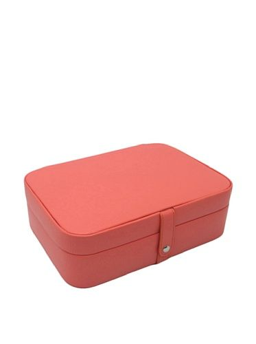 50 OFF Morelle Co Kimberly Leather Versatile Jewelry Box Coral