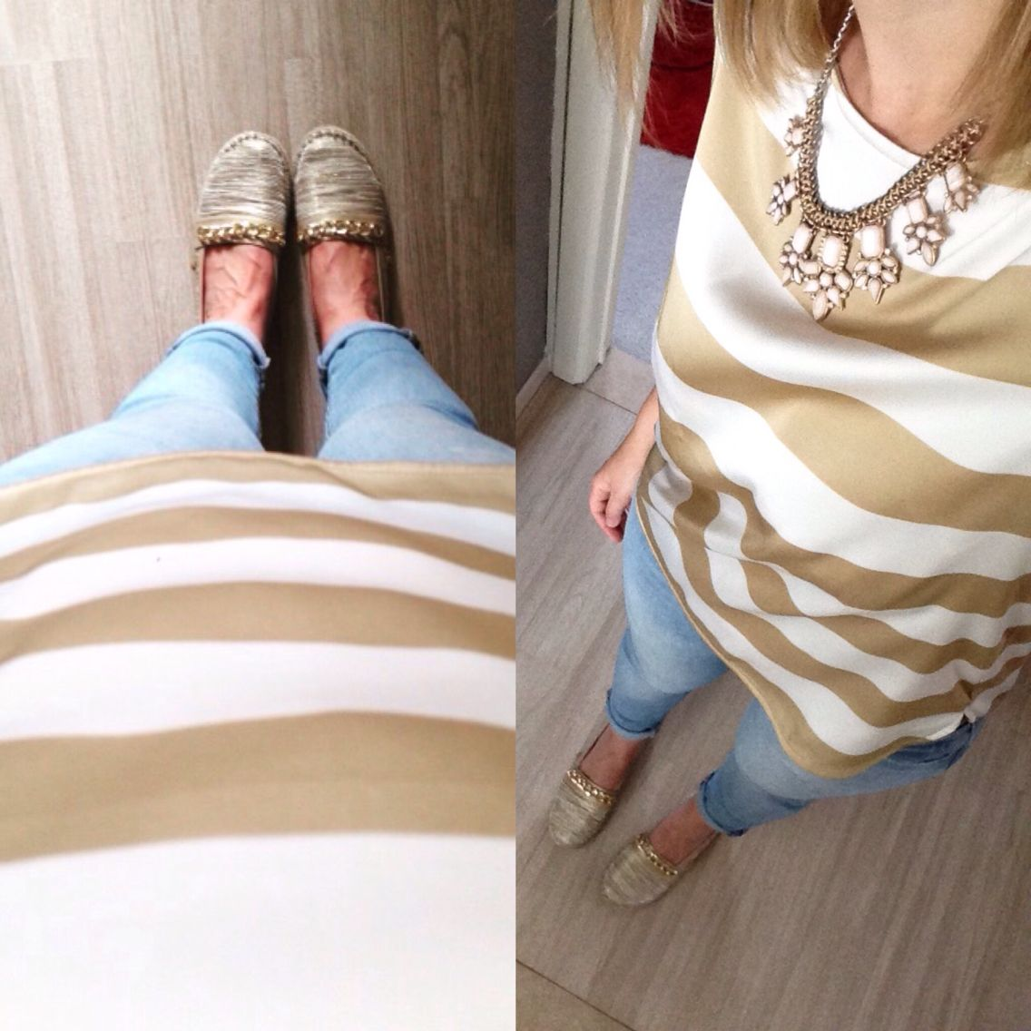 Outfit of the day #ootd #mcgregor #blouse #jeans #espadrilles