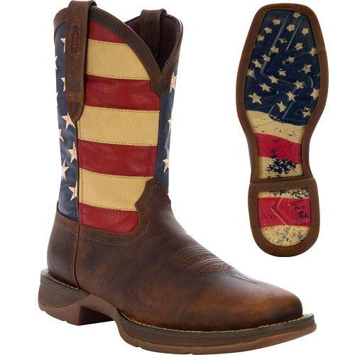Db5554 Durango Men S Patriotic Western Boots 111 99 Fs Cowboy Boots Square Toe Boots Men Boots