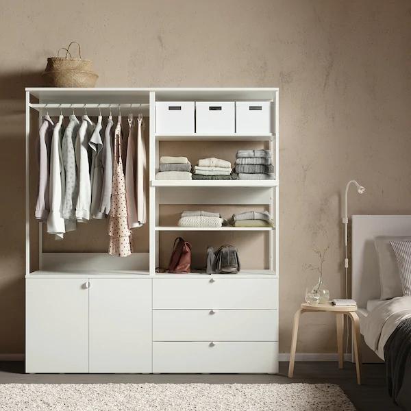 Kyrre Stool Birch Ikea In 2020 Ikea Minimalist Bedroom Small Open Shelving Units