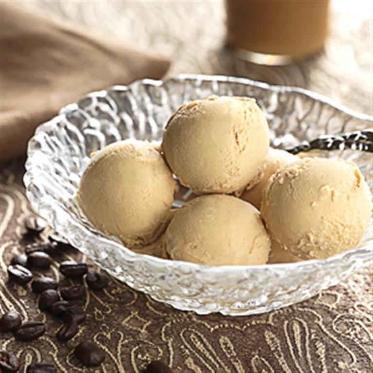 Cafe au lait ice cream coffee desserts recipes dessert