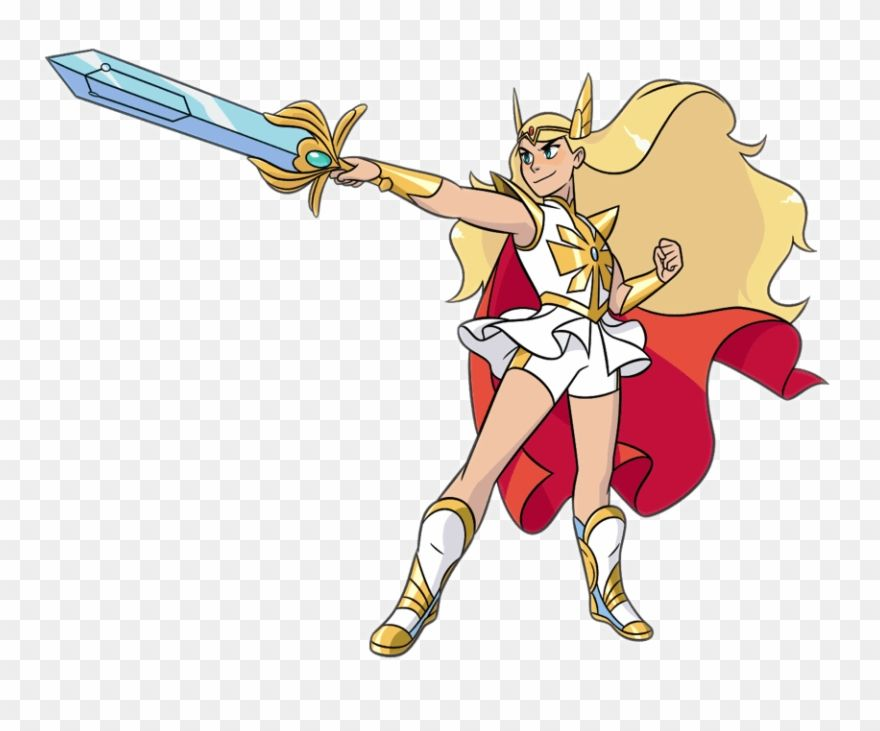 Download Hd Adora Also Known As She Ra Is The Main Titular Protagonist Cartoon Clipart And Use The Free Clipart For Your Cartoon Clip Art Cartoon Clip Art