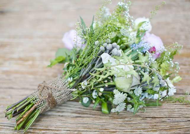 bellsimos ramos de novia con flores de estilo silvestre - Ramos De Flores Silvestres