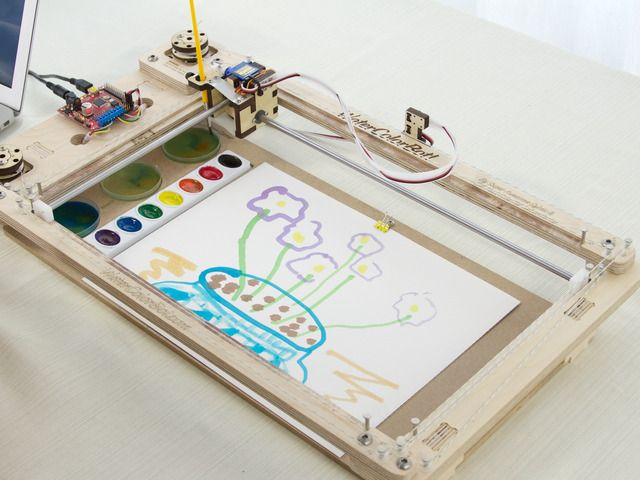 This Watercolor Bot Will Make A Painter Out Of Anyone Watercolor